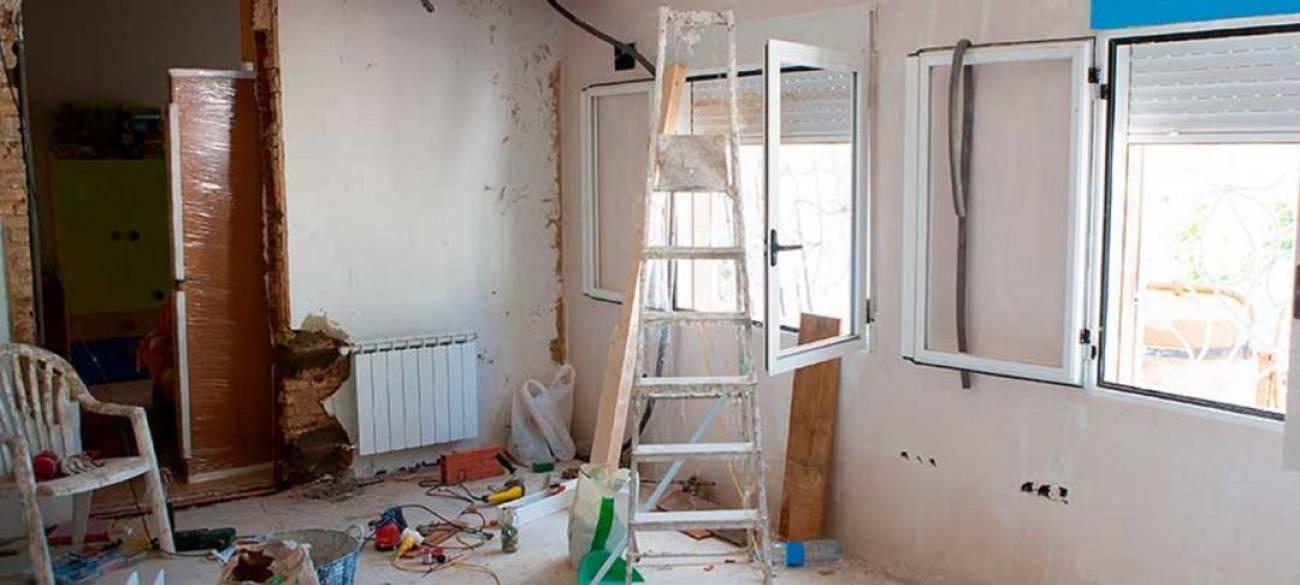 Prevención de riesgos en Obras de casa